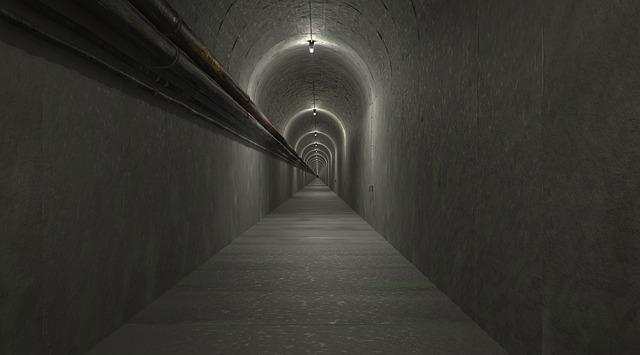útěk tunelem