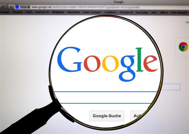 google a vyhledávání