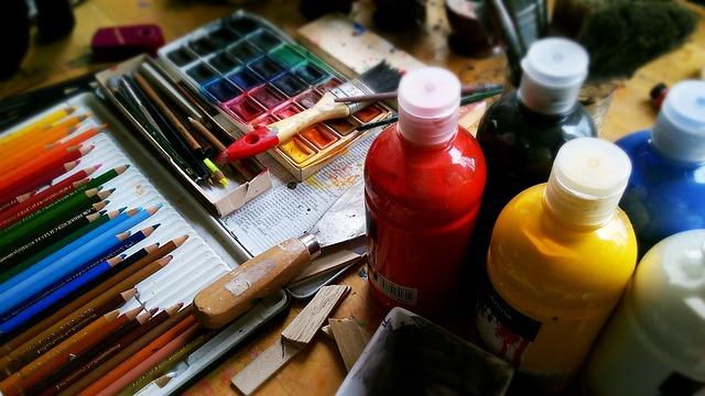 potřeby malíře