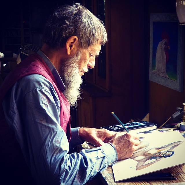 malování výkresu