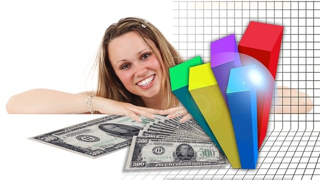 žena a peníze